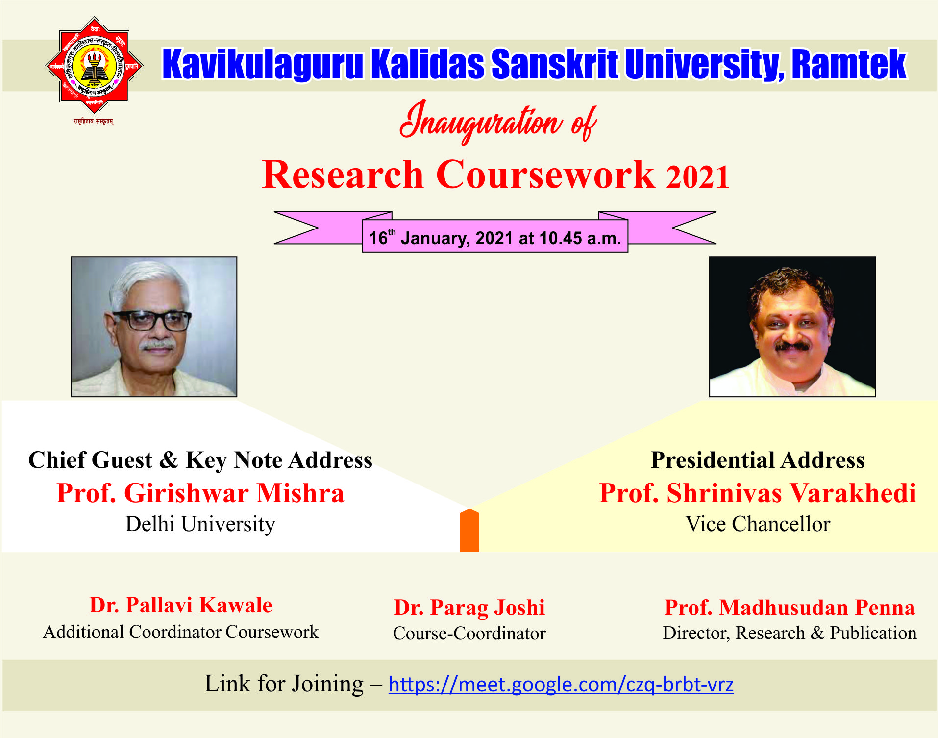 Research Course Work 2020-21
